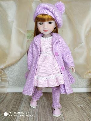 Комплект для кукол Ruby Red Fashion Friends 37 см
