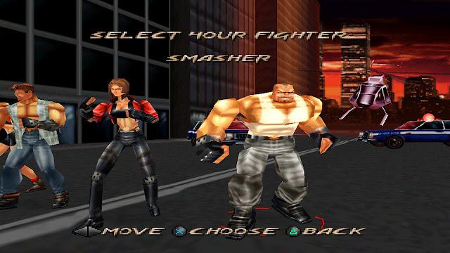لعبة قتال القوة Fighting Force 1