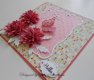 Selma S Stamping Corner And Floral Designs Daisy Die Tutorial