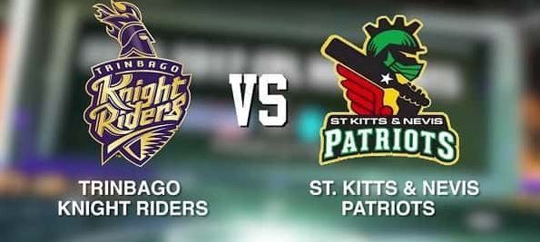CPL T20: Trinbago Knight Riders vs St Lucia Zouks Live Streaming 8th Sep 2019