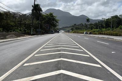 MOPC casi concluye trabajos de la carretera Navarrete-Puerto Plata
