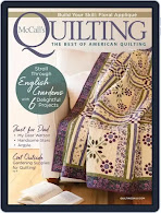 NEW! May-June McCall's Quilting (CLICK!)