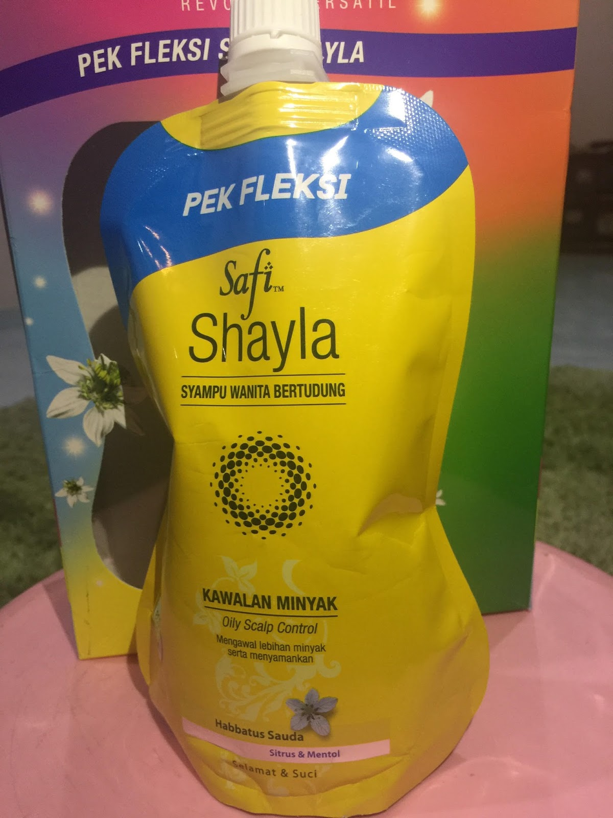 SAFI Shayla Pek Fleksi - Inovasi Syampu Terkini Wanita Bertudung