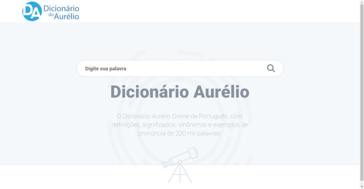 Dicionário Aurélio On-line