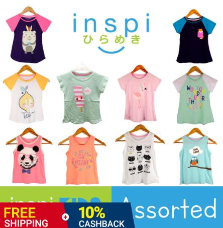 INSPI Kids Girls ASSORTED Top
