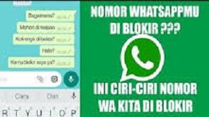 Ciri WhatsApp Diblokir
