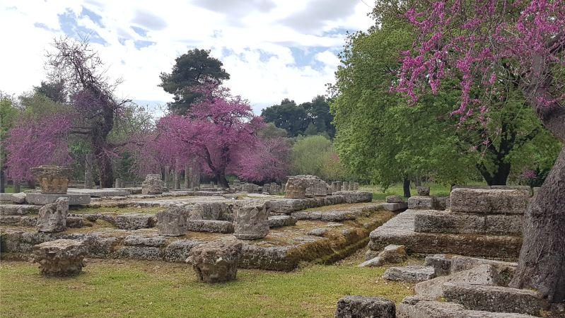 Ausgragungen antikes Olympia