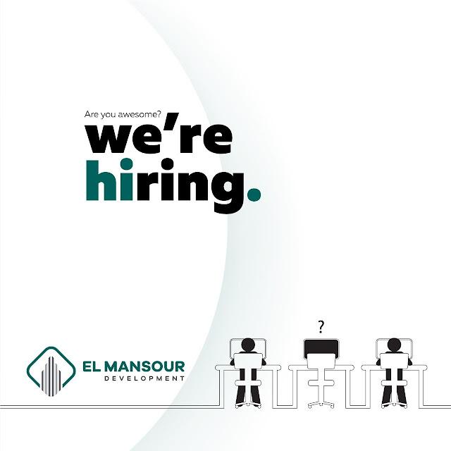 مطلوب مهندس مدني موقع لشركة المنصور El Mansour Development