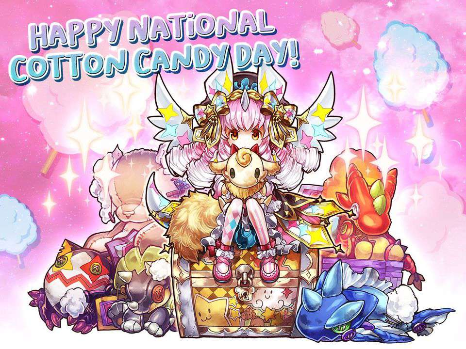 National Cotton Candy Day Wishes Lovely Pics