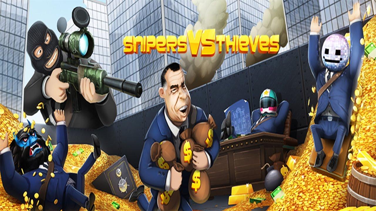 Snipers vs Thieves v1.18.2 MOD İNDİR