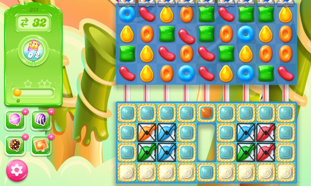Candy Crush Jelly Saga 311