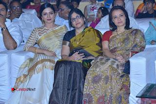 Actress Vimala Raman Stills in White Silk Saree at Om Namo Venkatesaya Audio Launch Event  0016.JPG