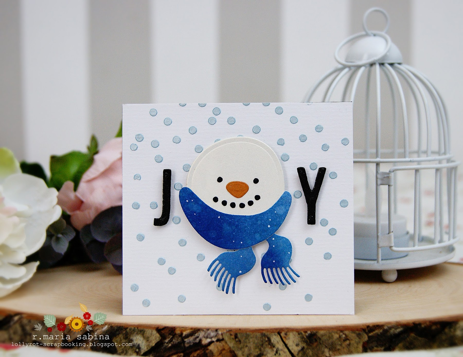 Lollyrot Scrapbooking: Easy Christmas Cards
