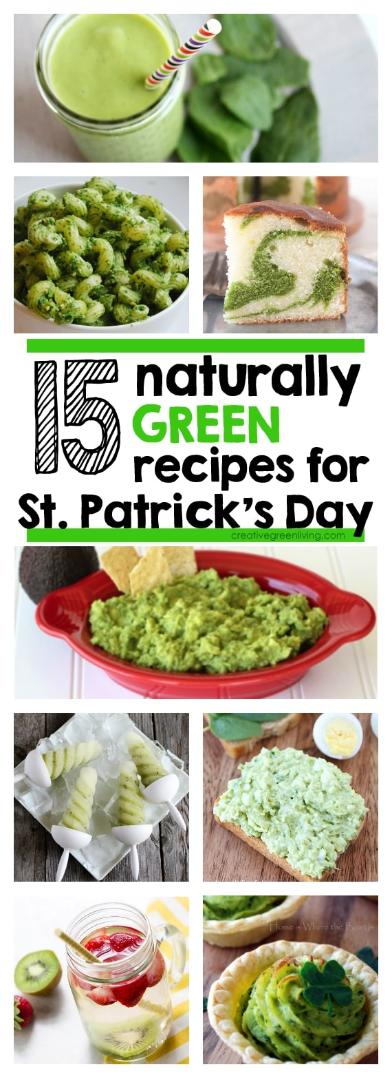 Green food ideas for St Patrick's Day