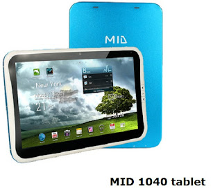 MID 1040 tablet review