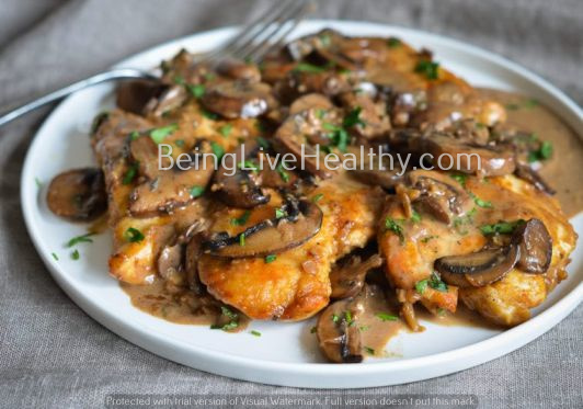 Chicken Marsala : Easy Creamy Chicken Marsala