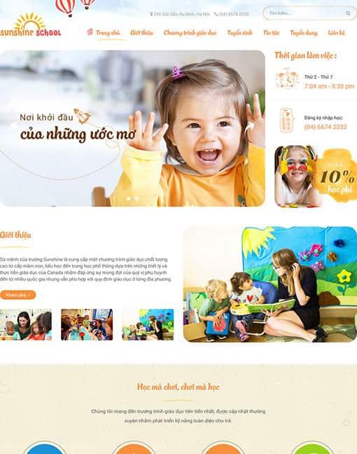 Theme blogspot tin tức dịch vụ responsive