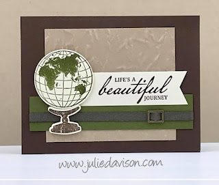 Stampin' Up! Beautiful World Card ~ 2020-2021 Annual Catalog ~ www.juliedavison.com #stampinup