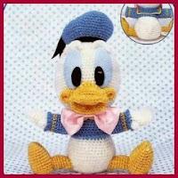 Baby Donald amigurumi