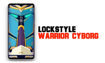 lockscreen-warrior-cyborg