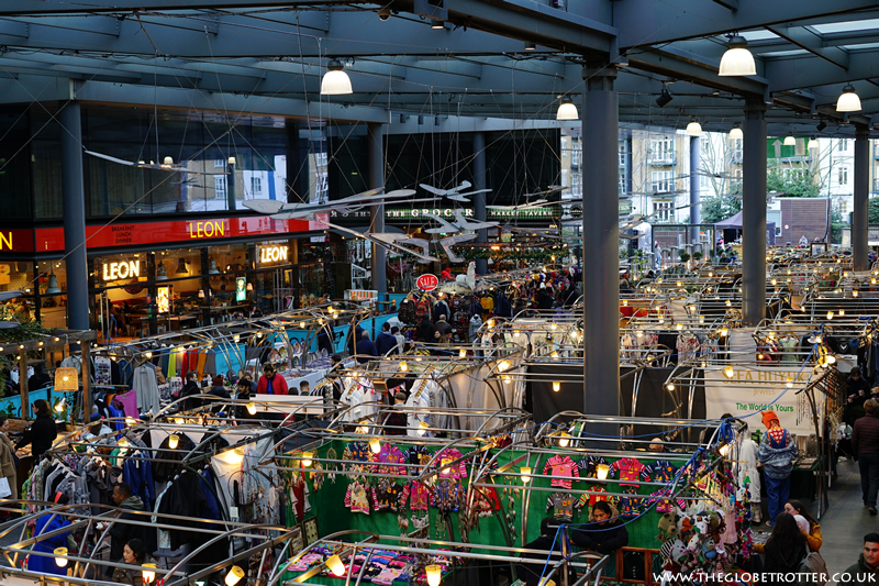 The Old Spitalfields Market in London