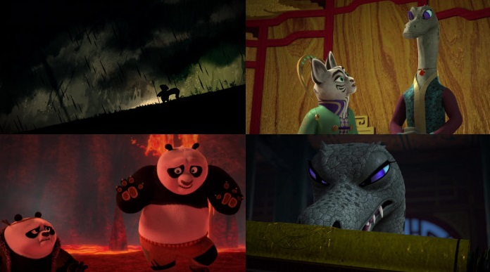 Screenshots Of Hindi Dubbed Show Kung Fu Panda: The Paws of Destiny 2019 Season 02 Complete All Episodes 300MB 720P HD