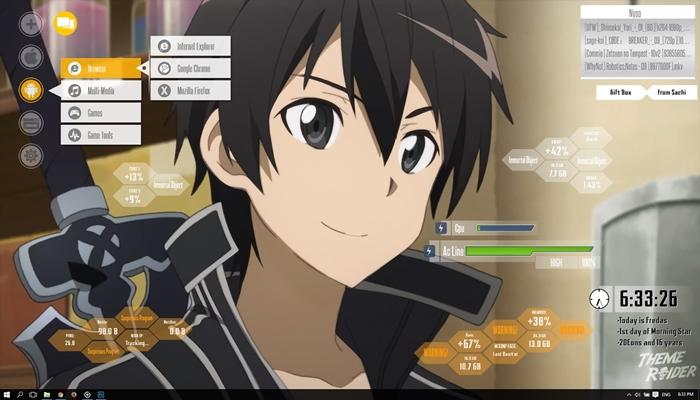 Cara Install Tema Anime di Laptop untuk Windows 8, 8.1 dan 10