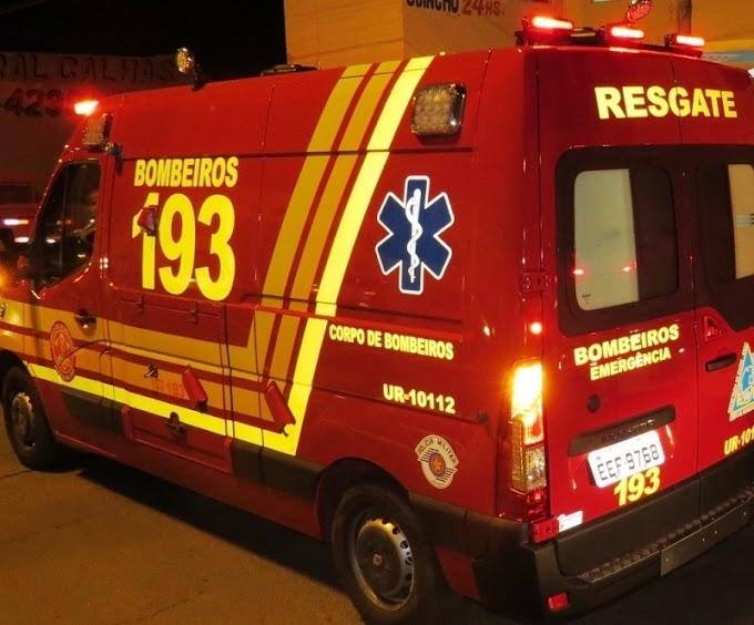 Corpo de Bombeiros é acionado no final de semana para atender capotamento, queda de moto e caso clínico