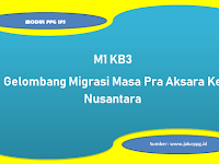Gelombang Migrasi Masa Pra Aksara Ke Nusantara M1 KB3