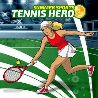 Jogo online grátis Tennis Hero HTML5