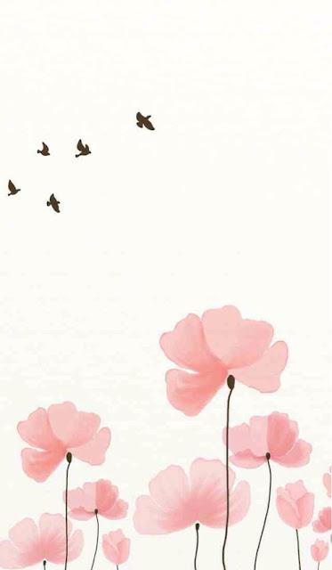 Flores y palomas