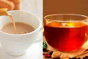 Which is beneficial? Milk tea or color tea?