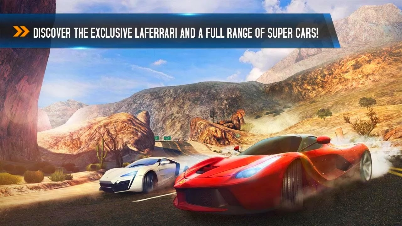 asphalt 8 car racing game