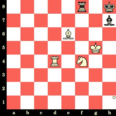 Les Blancs jouent et matent en 4 coups - Daniel Campora vs Andrei Kharitonov, Moscou, 1989