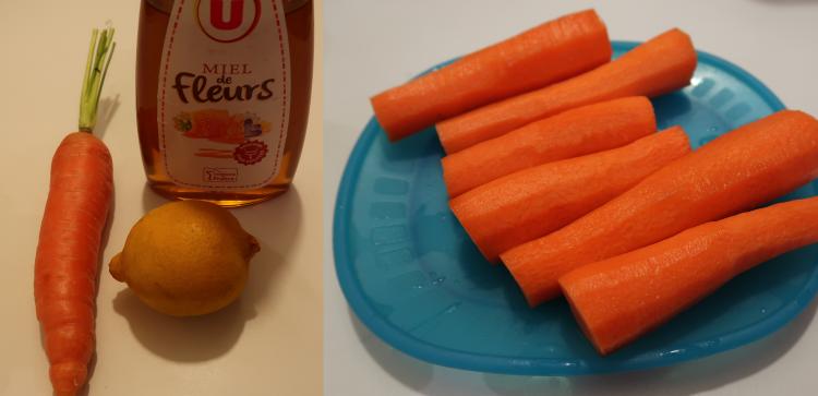 caroote, citron et miel