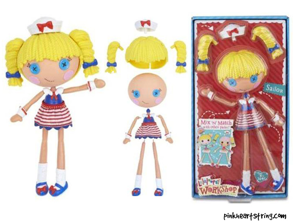 Lalaloopsy Workshop Sailor Pack Playset