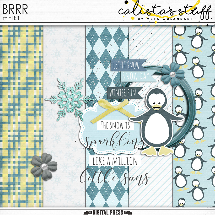 February 2018 Digiscrap Parade : BRR