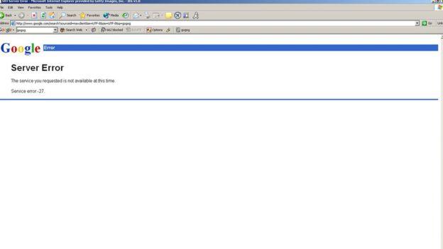 ماذا سيحدث إذا توقف موقع جوجل عن العمل
