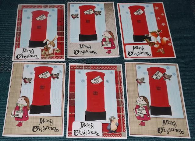 Kym S Crafty Cards Various Christmas Cards