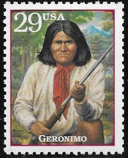 Geronimo Apache War Leader