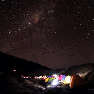 Bintang di gunung gede