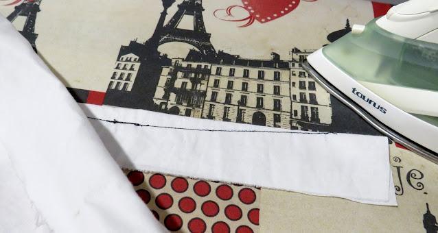 Planchado costura pinza