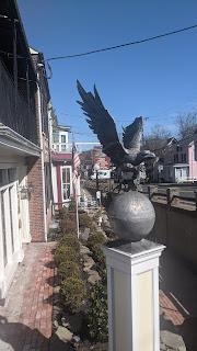 Eagle sculpture