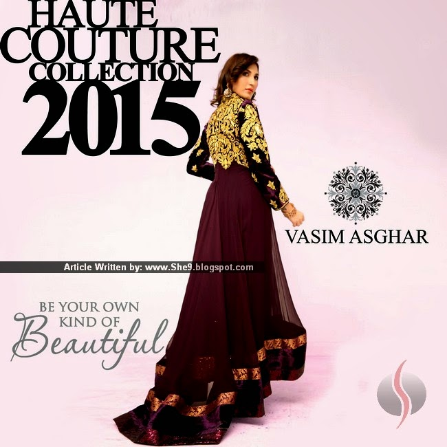 Vasim Asghar Haute Couture 2015 Collection