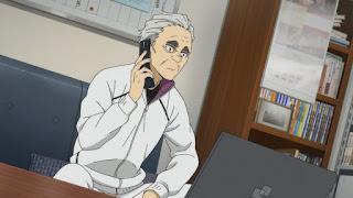 ハイキュー アニメ 4期   白鳥沢学園高校 監督 鷲匠鍛治 Washijō Tanji   HAIKYU!! Shiratorizawa   Hello Anime !