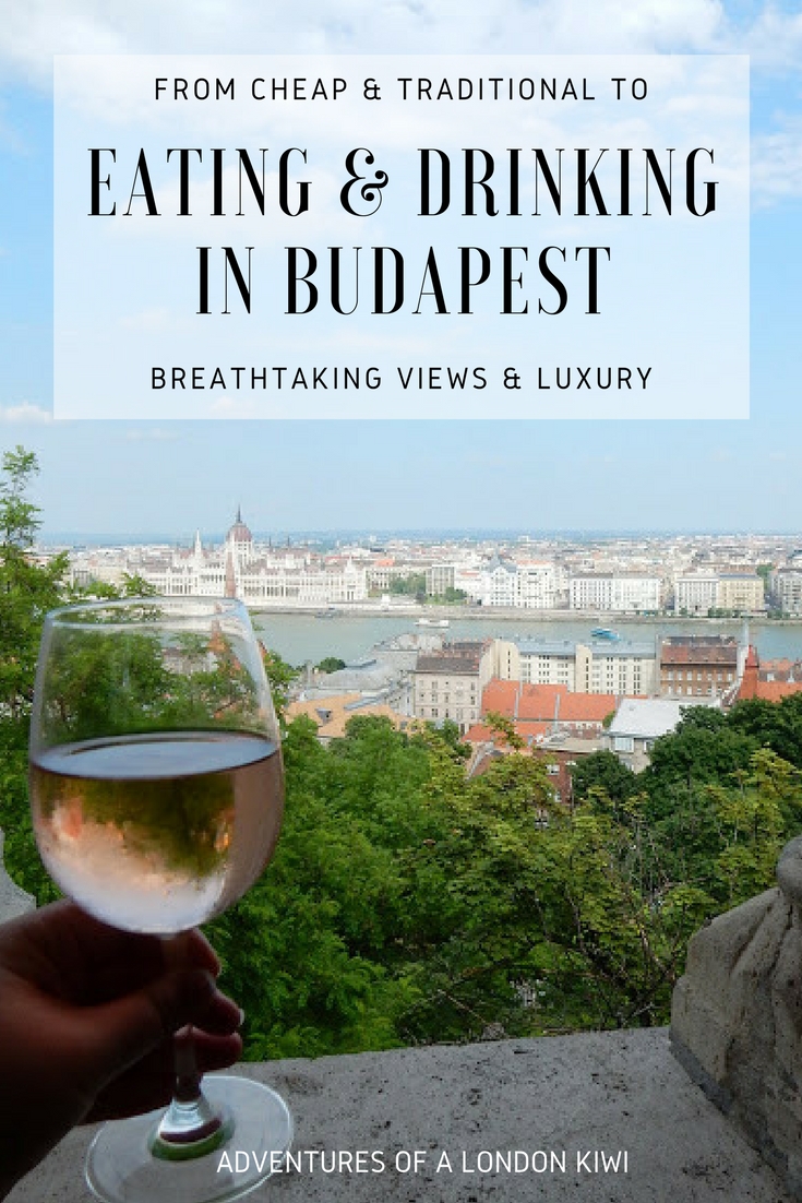 Where to eat and drink in Budapest Adventures of a London Kiwi