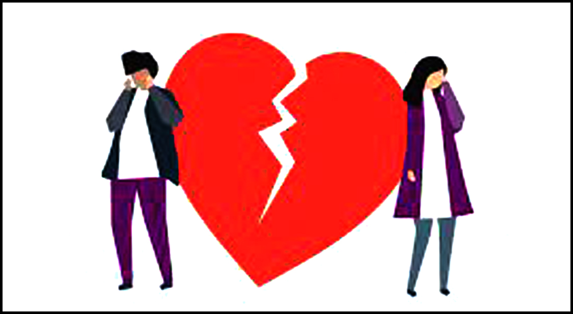 If your heart is broken in love, then never do this mistake?