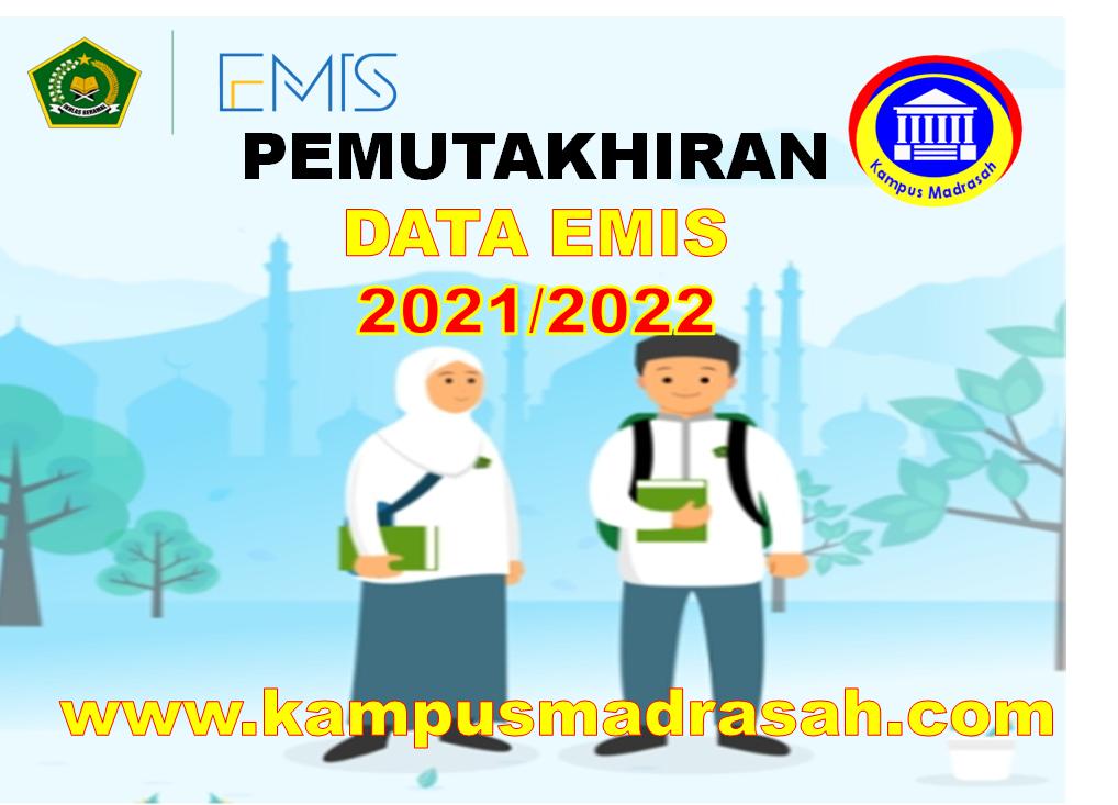 Surat Edaran Pemutakhiran Data EMIS Madrasah