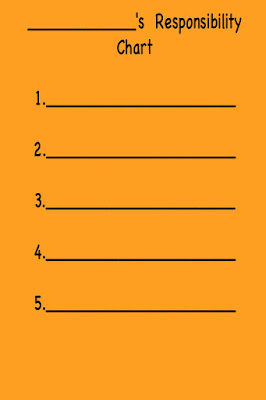 How to Earn the Orange Daisy Girl Scout Petal Responsible for What I Say and Do With a Chore Chart