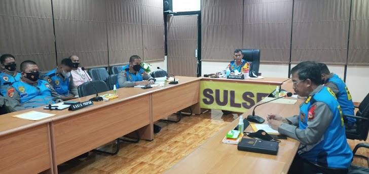 Wakapolda Sulsel Pimpin Rapat Kelulusan Rikkes Tahap I, Catar (i), Casis Bintara Dan Casis Tamtama TA  2021